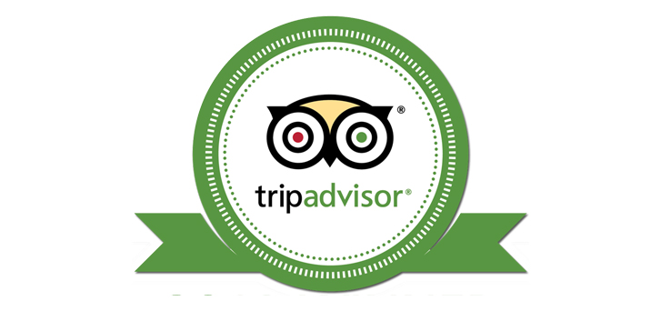 Check Our Reviews at Tripadvisor %>